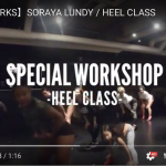 見て、盗め!!SORAYA LUNDY HEEL WORKSHOP