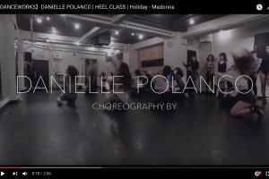 記事「世界的に活躍するフィメールダンサー、ダニエル・ポランコによるスペシャルワークショップの映像!」の画像