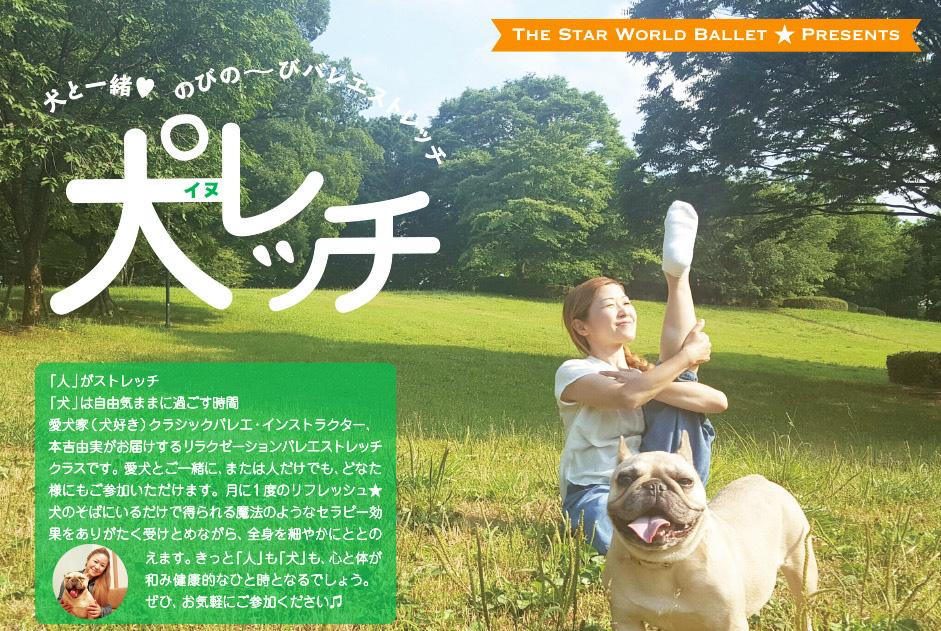 愛犬と一緒にリラックスタイム♪ 『犬(イヌ)レッチ』でカラダをほぐそう!!