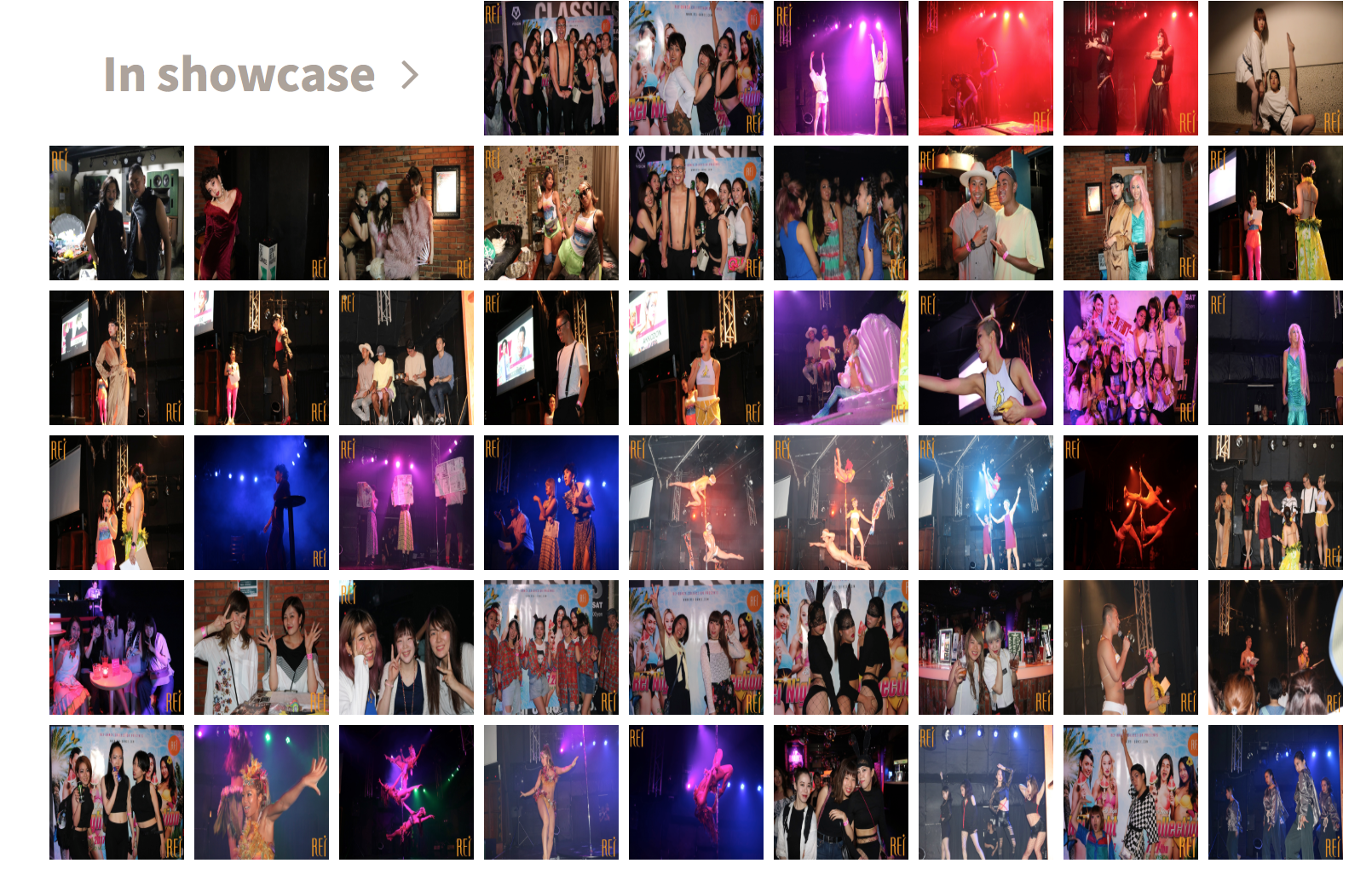 記事「ダンススタジオによるクラブイベント?!Rei Night Collection の写真公開!」の画像