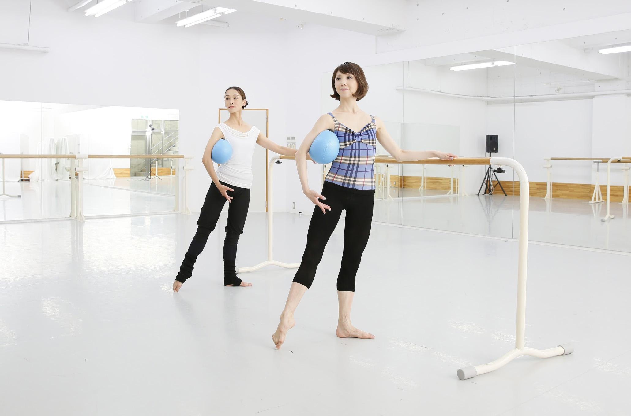 記事「ここでしか受けられない! ダンサー・バレリーナのためのボールエクササイズクラス!!」の画像