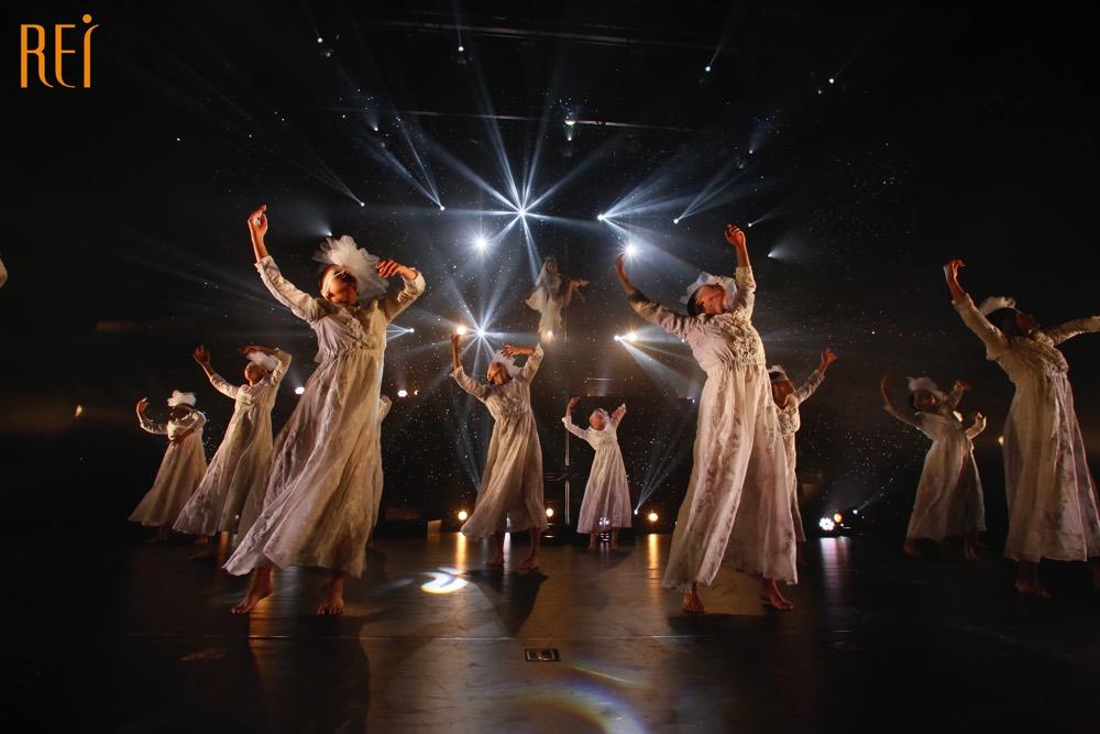 記事「女性が輝く舞台。Rei Dance Collection発表会「坐巫艶 -ヲミナ-」あなたにとって美しいものは何ですか?」の画像