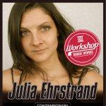 ニューヨークからコンテンポラリーダンサー来日!Julia Ehrstrand のWORKSHOP開催!