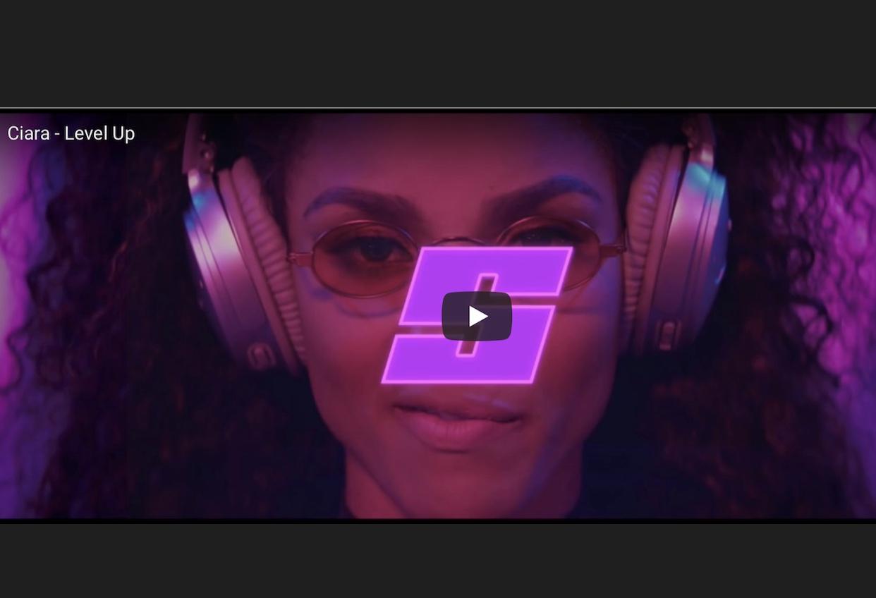 今海外のSNSで話題を呼んでいる、Ciaraの新曲『Level  Up』!!