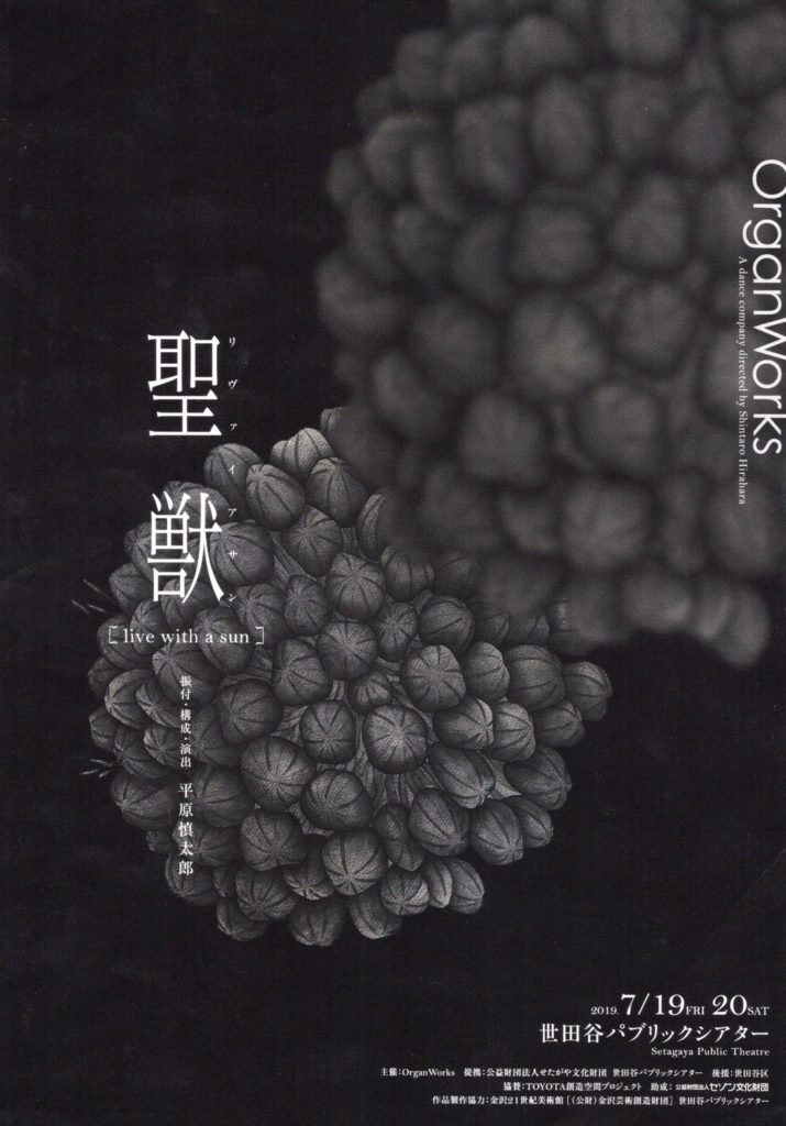 記事「OrganWorks、平原慎太郎「トヨタコレオグラフィーアワード 2016」 受賞作品を再演へ!」の画像