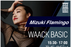 記事「Dance Works、Mizuki Flamingo氏による「WAACK BASIC」クラスを開講」の画像