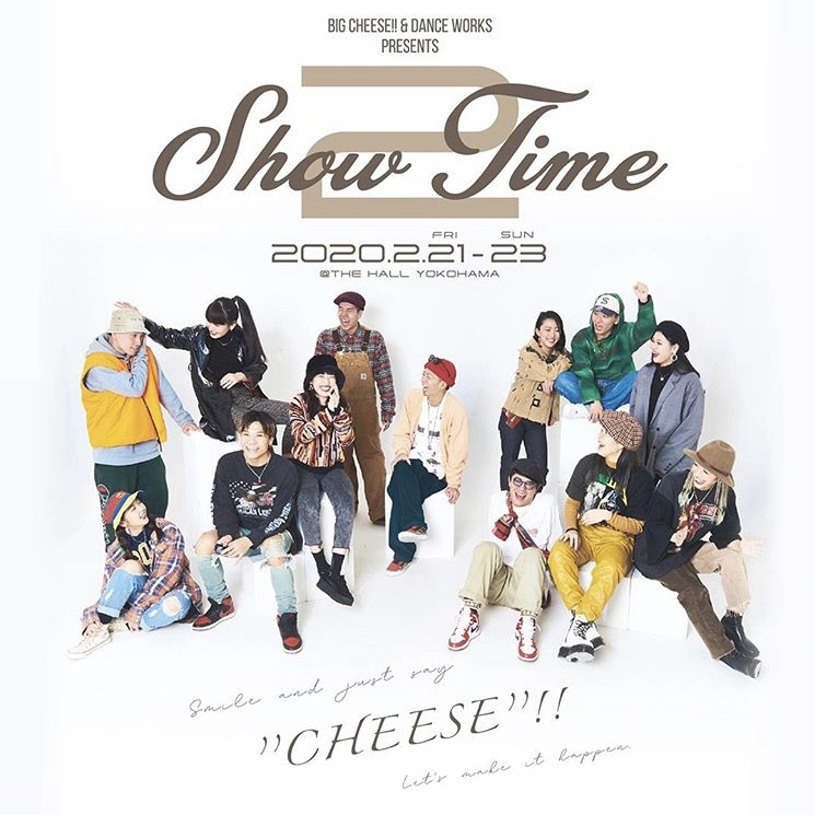 SHOW TIME vol.2 presented by BIG CHEESE