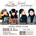BIG CHEESE Company!!《SHOW TIME vol.2》開催記念!SPECIAL WORKSHOP決定!!