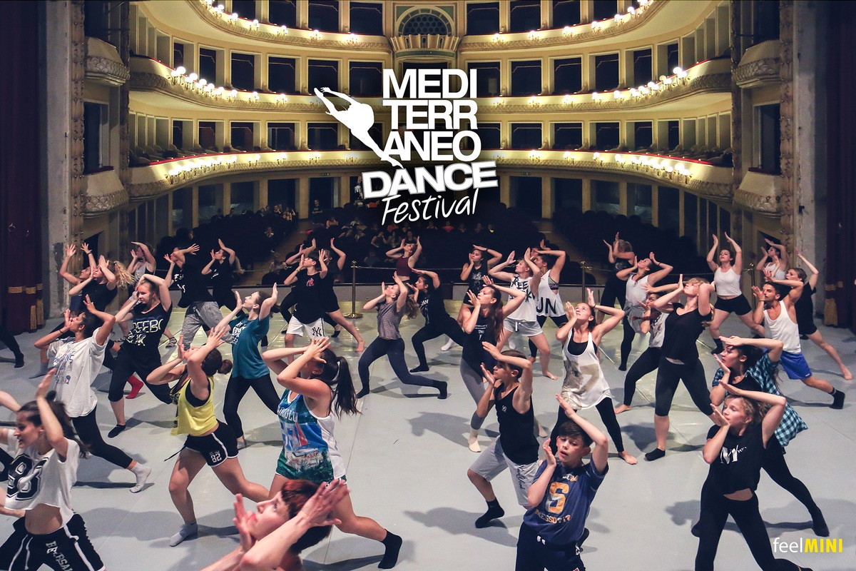 イタリア「Mediterraneo Dance Festival(メディティラニオダンスフェスティバル)」参加ダンサー募集!!