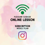PLEASURE GARAGE ONLINE SERVICE WEEKLY LESSON START