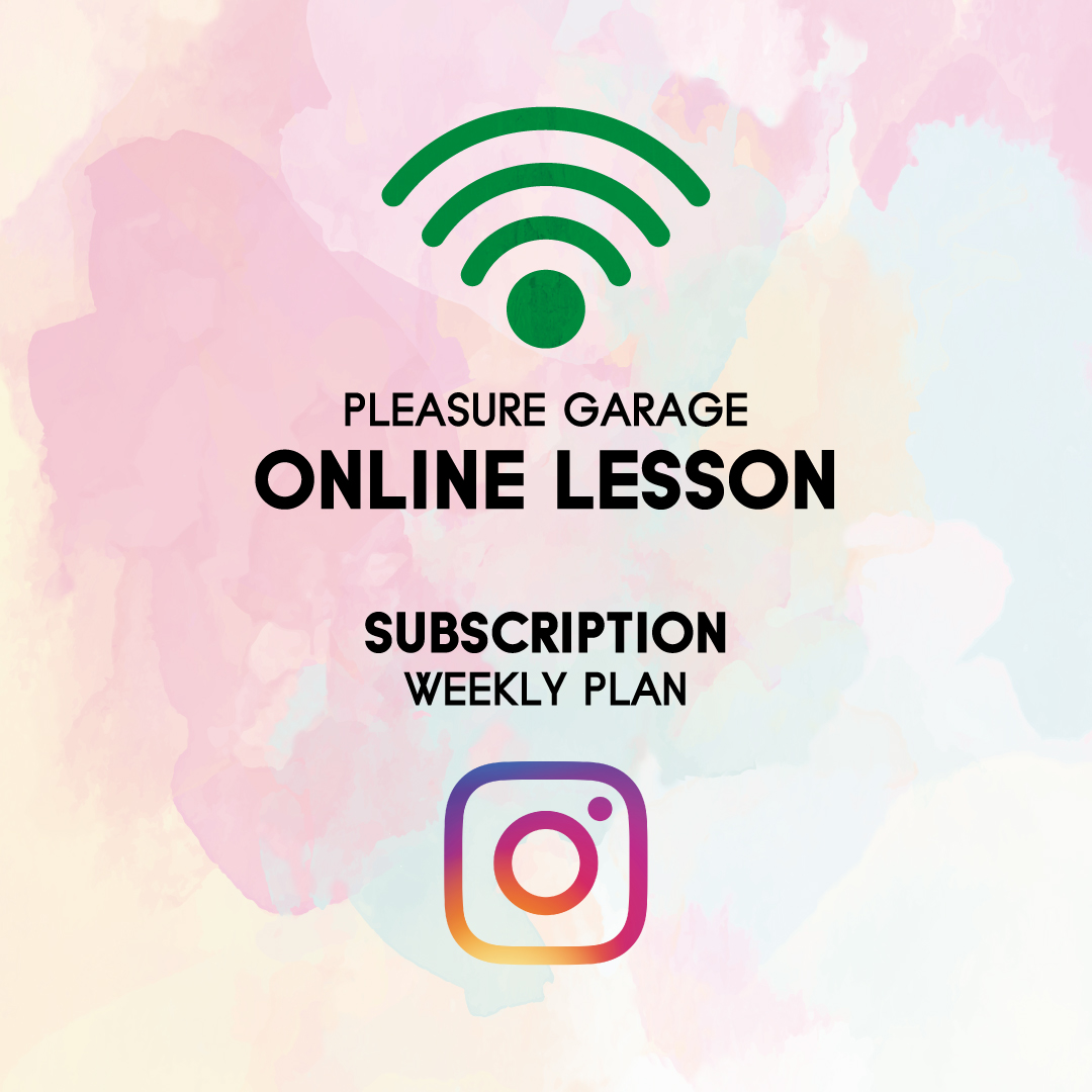 PLEASURE GARAGE ONLINE SERVICE WEEKLY LESSON START